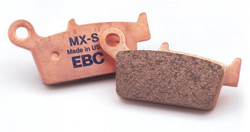 Pastilha de freio para moto ebc pastilhas